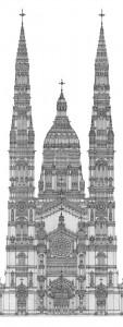 Kathedrale 2012, Editonsdruck 2013 1/5, 59x21 cm, 200 Euro