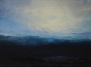 Ulrich Kretschmann, Ohne Titel, 30 x 40 cm Öl auf Leinwand, 2014