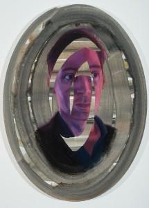 Purple Selfie, 68 x 50 cm, Leinwand, 2014