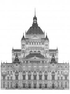 Opernhaus 2011, Editonsdruck 2012 2/5, 42x29 cm, 200 Euro