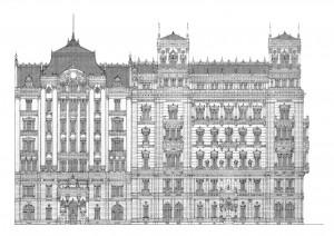 Zwei Häuser 2012, Editionsdruck 2013 1/5, 21x29 cm, 160 Euro