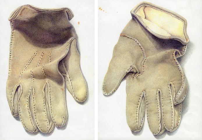 Editionsdruck - Rehlederhandschuhe, 2005